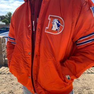 ORIGINAL Starter Denver Broncos Bomber Jacket